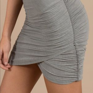 Dresses & Skirts - Grey wrap skirt
